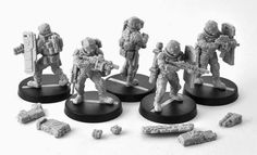 Anvil Industry presents the Republic's Commando Assault Specialists for Afterlife: