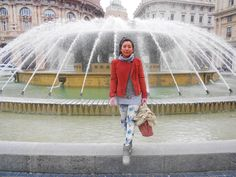 Winter outfit glamour, italian style