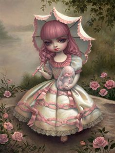 MARK RYDEN was my Art Monday: http://alicewonderland2.blogspot.co.uk/2013/08/mark-ryden.html