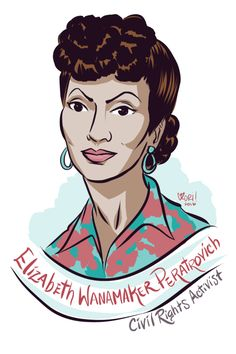 #100days100women Day 39: Elizabeth Peratrovich A member of the Tlingit nation, she was a civil rights activist working for equality for Alaska Natives. She is credited with the advocacy that gained the passage of the then territory's...