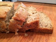 Best Banana Bread | Food.com | Made this today. It really is yummy. I only had two bananas so I halved everything and cooked it for 35 minutes instead of 60 (at 325 in a regular-sized glass loaf pan). Made a short cute loaf. There are no leftovers. At all.
