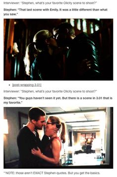 #Olicity #Arrow ♥