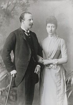 Louise Duchess of Fife with her husband the Duke of Fife