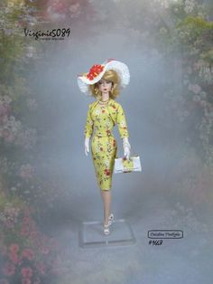 tenue outfit + accessoires pour fashion royalty barbie silkstone vintage #1668