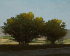 The Way to Great Falls, 8x10 inches, oil on panel. Marc Bohne