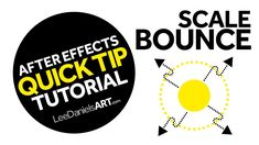 After Effects Tutorial | QUICK TIP | Scale Bounce