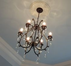Pottery barn chandelier again ubiquitous but i still love it pottery barn celeste chandelier aloadofball Image collections