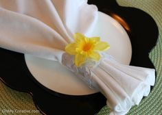 Napkin Rings for Impressive Place Setting
