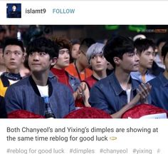 aww Chanyeol and Lay.. these boys are dear angel souls.. but still smokin' hot pieces of man.. I still can't reconcile that in my own soul..