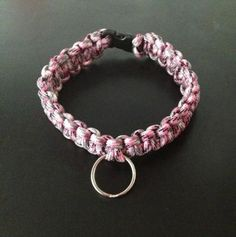 Paracord Dog Collers