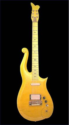 One of many custom guitars made for Prince.
