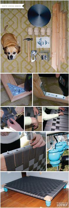 DIY: Easy dog bed