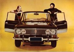 Russian car posters