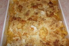 Southern good buttery Peach Cobbler and just in time for Easter..