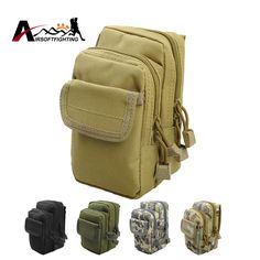 Tactical 1000D EDC Bag Molle Gadget Pouch Small Utility Waist Bag Fanny Pack Outdoor Sports Small Equipment Belt Bag