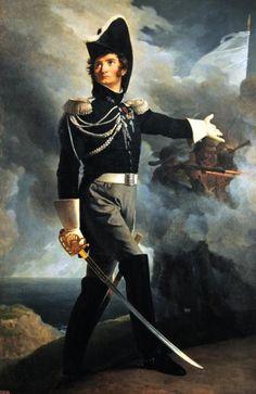 1819 - HENRI DU VERGIER, COMTE DE LA ROCHEJAQUELEIN (L'INTRÉPIDE)
