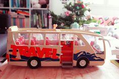 bus playmobil| Poulette Magique