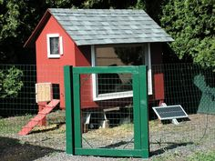 Solar Powered Chicken House