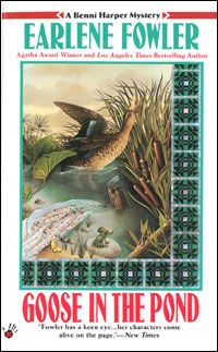 Goose in the Pond by Earlene Fowler - paperback NOVEL