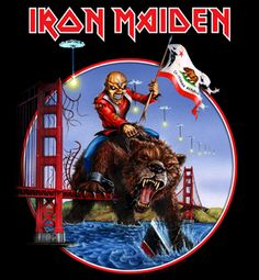 Iron Maiden California Tour 2012