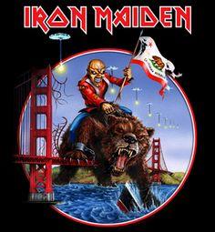 Iron Maiden California Tour 2012