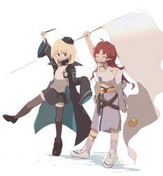 Anime Girl Cute, Kawaii Anime Girl, Anime Chibi, Anime Art, Tales Of Berseria, Cartoon Styles, Character Design, Animation, Fan Art