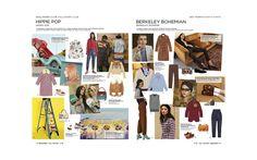 Peclers Paris: Cahier de tendance CASUAL LIFE TREND BOOK FALL WINTER 17-18