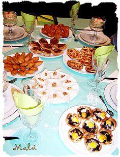 Propuestas para cenas de picoteo. Cenas informales o celebraciones
