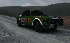 Dirt Rally - Lancia Fulvia HF - Powys Wales   Fterm Wynt