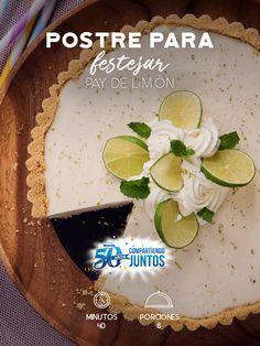 Celebra con nosotros 50 años con #Philadelphia #CompartiendoJuntos este Pay de limón. #recetas #receta #quesophiladelphia #philadelphia #crema #quesocrema #queso #comida #cocinar #cocinamexicana #recetasfáciles #pay #limón #postres #postresparafiestas #postresfiestas #paydelimón