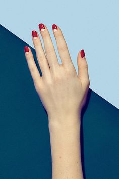 Le Fashion Blog 3 Manicures To Try Now Nude Red Moon Retro Nails Via Harpers Bazaar Inner Circle Nail Art 2014 photo Le-Fashion-Blog-3-Manicures-To-Try-Now-Nude-Red-Moon-Retro-Nails-Via-Harpers-Bazaar.jpg