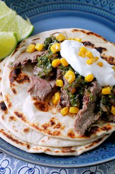 These Pineapple Marinated Steak Tacos with Chimichurri Sauce will elevate your Taco Tuesdayexperience to a whole new level! I got to take a trip last week and learn all about CertifiedAngus Beef. The Ohio Beef Council invited me on their #BeefMeetsBlog event where I got to meet other food bloggers from Ohio, Michigan, Kentucky and...