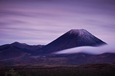 This is Mt Ngauruhoe, (or Mt Doom for those Lord of the Rings fans). Situated on the Central Plateau of the North Island of New Zealand - Mike Hollman Photography