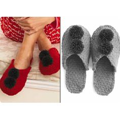 Patons Knit Slippers
