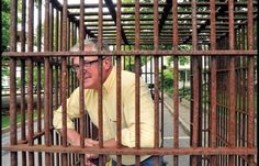 how to build a jail cell for fundraiser