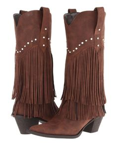 7 Vegan Fringe Boots to Buy That Look Fabulous Wedge Ankle Boots, Wedge Shoes, Knee Boots, Heeled Boots, Cowgirl Outfits, Cowgirl Style, Cowgirl Boots, Fringe Boots, Leather Fringe