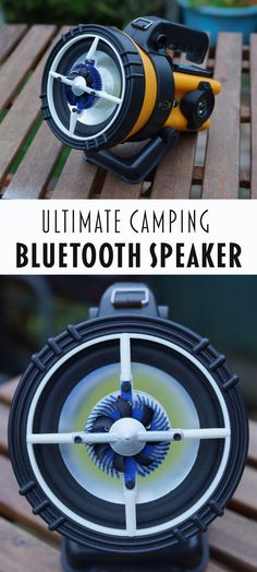 Camping Torch and Bluetooth Speaker in One