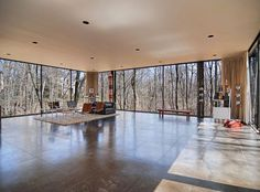 Ben Rose minimal modern house from Ferris Bueller's Day Off