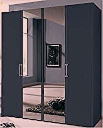 Drehtürenschrank Frakes Brayden StudioBrayden Studio - My CMS Diy Home Decor Bedroom, Home Decor Kitchen, Design Bedroom, Wardrobe Hinges, Armoire, Ok Design, Bookshelves In Bedroom, Shelf Arrangement, Boho Dekor