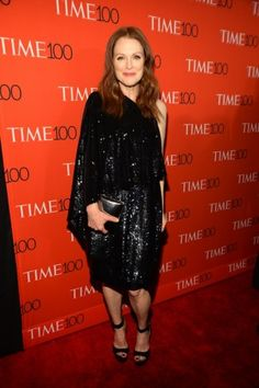 Julianne Moore at the Times 100 Gala. Click on the image to see more looks.