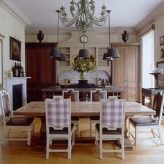 French Kitchen and Dining Room
