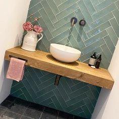 Contact - Oud is nieuw Small Toilet Room, Bathroom Toilets, Bathroom Layout, Bathroom Inspiration, Bathroom Decor, Cute Diy Room Decor, Bathroom Renos, Laundry In Bathroom, Bathroom Interior Design