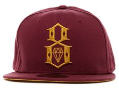 REBEL8 x NEW ERA「Maroon Duck」59Fifty Fitted Baseball Cap Fitted Baseball  Caps 28cd1ee6a41