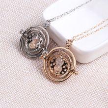 Hp tempo turner pingente de colar de moda jóias areia colar de vidro para as mulheres(China (Mainland))