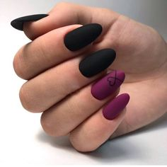 65 Winter Nail Designs for Christmas – – Related posts: Winter nails Christmas nails. Fun designs for manicures Winter Nail Designs: … Black Nail Designs, Winter Nail Designs, Nail Art Designs, Nails Design, Awesome Nail Designs, Salon Design, Matte Nail Art, Cute Acrylic Nails, Black Nail Art