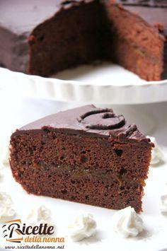 Torta Sacher #ricette #recipe #foodidea #foodcreative
