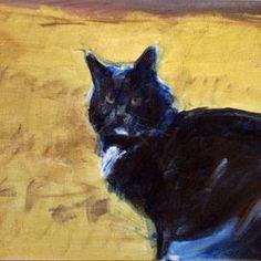 Ready to Run - Feline Portrait
