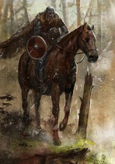 Jarl, Viking warrior..