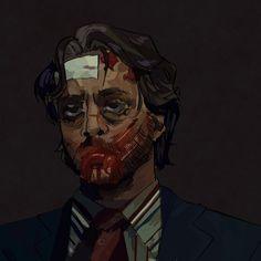 Hannibal Tv Series, Nbc Hannibal, Hannibal Lecter, Frederick Chilton, Tragic Love Stories, Anatomy Poses, Will Graham, Hugh Dancy, Movies And Tv Shows
