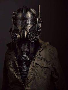 Kind of Dieselpunk-y... #costumes #dieselpunk #steampunk